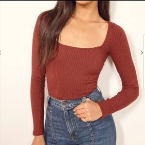 Reformation Tops - REFORMATION BETHANY TOP